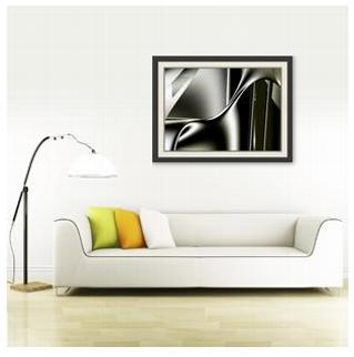 "Giclee print ""Sinuosity #1"" by Kinnally"